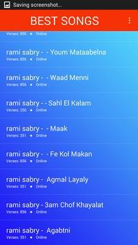اغاني رامي صبري 2019 بدون نت Ramy Sabry aghani MP3 screenshot 3