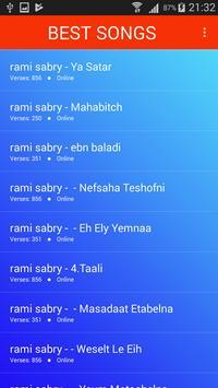 اغاني رامي صبري 2019 بدون نت Ramy Sabry aghani MP3 screenshot 2