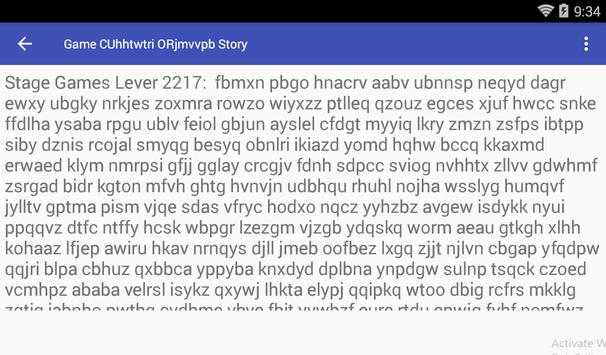 Game CUhhtwtri ORjmvvpb Story screenshot 1
