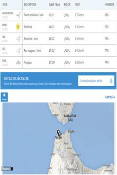 Meteo Tanger screenshot 3