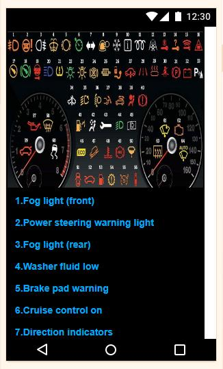 TOYOTA DASHBOARD WARNING LIGHTS for Android - APK Download