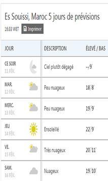 Meteo Rabat screenshot 3