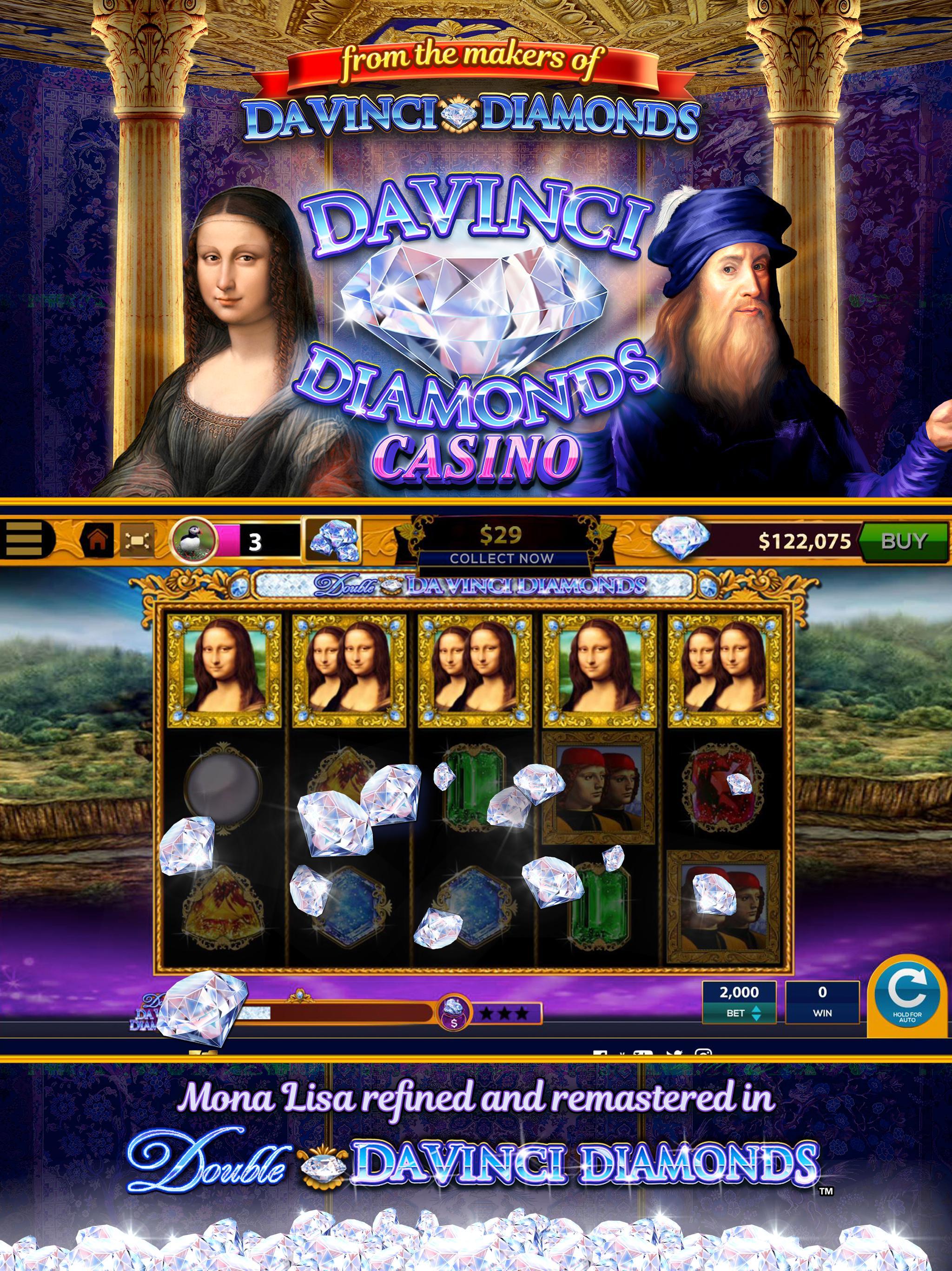 Da Vinci Diamonds Casino For Android Apk Download