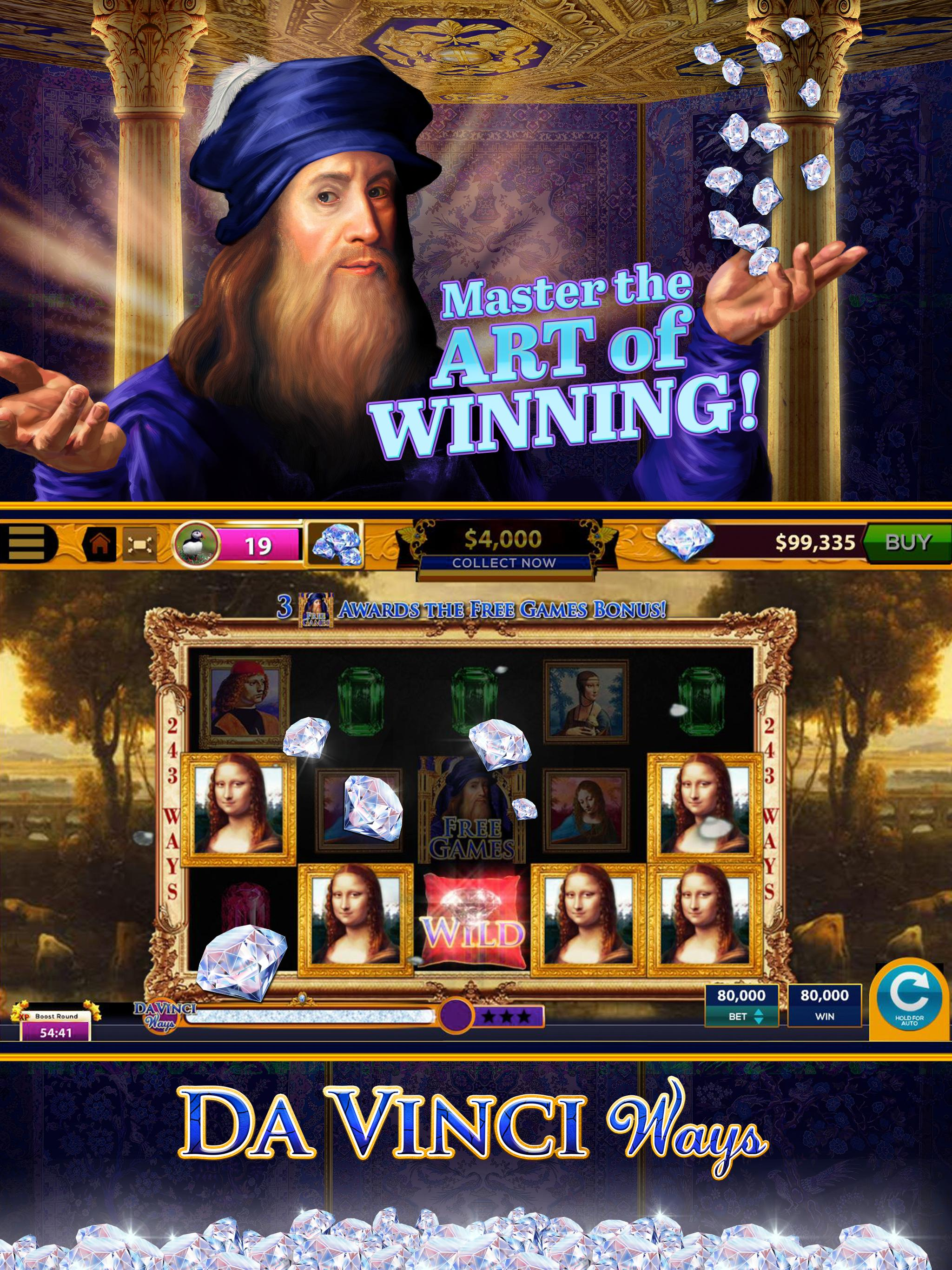 Da Vinci Diamonds Casino For Android Apk Download