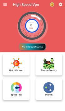 High Speed VPN - Best Free Vpn screenshot 1
