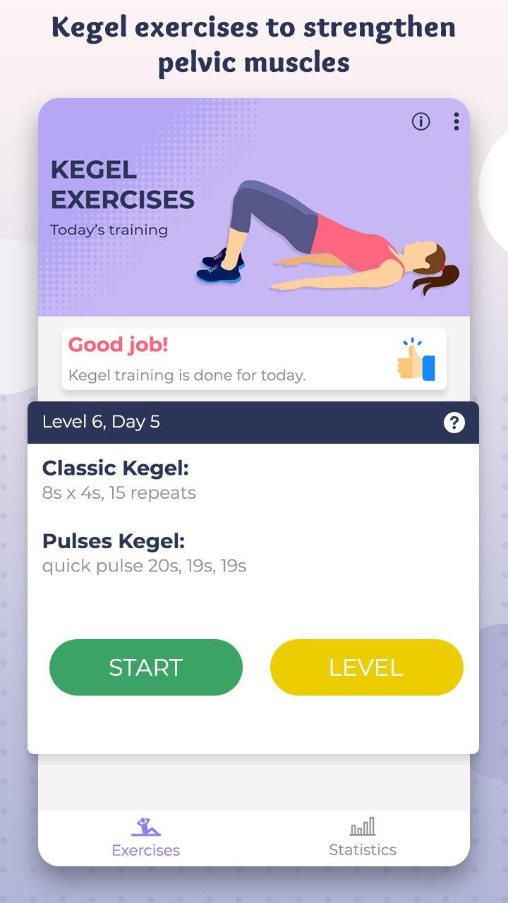 Kegel what training is How to