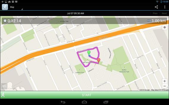 JogTracker screenshot 9