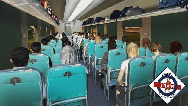 القطار الهندي المسافر تصوير الشاشة 1