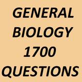 General Biology 1700 Questions
