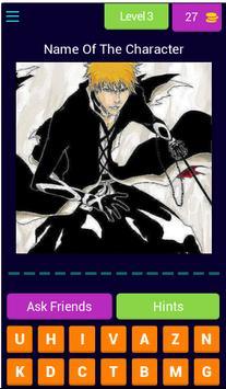 Guess The Anime Character Quiz screenshot 3