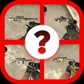 Cs Guns Quiz icon