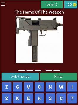 Cs Guns Quiz screenshot 16