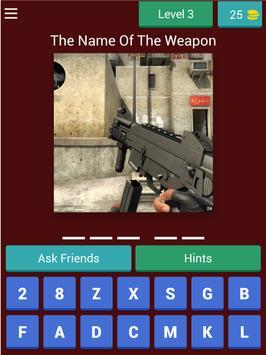 Cs Guns Quiz screenshot 10