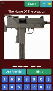 Cs Guns Quiz screenshot 2