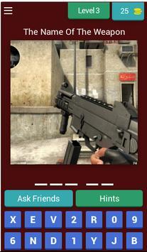 Cs Guns Quiz screenshot 6