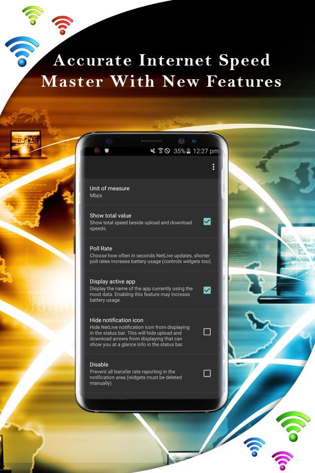 Madison : Internet speed master app download