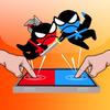 sauter bataille Ninja- 2 joueurs avec des amis icône