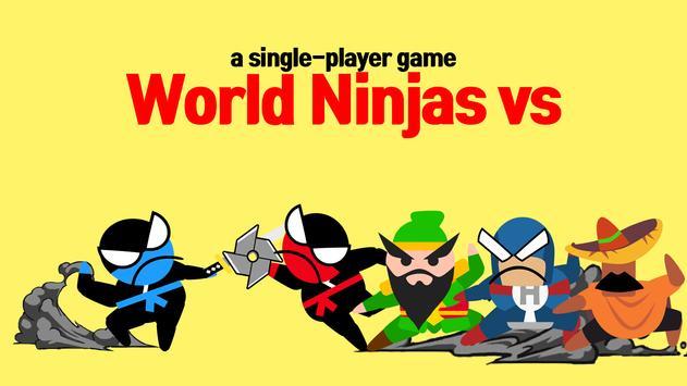 7 Schermata Jumping Ninja Battle - Two Player battle Action