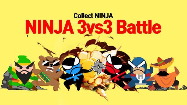 8 Schermata Jumping Ninja Battle - Two Player battle Action