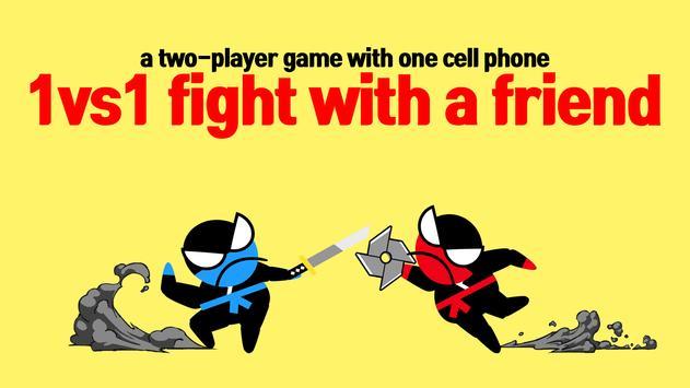 12 Schermata Jumping Ninja Battle - Two Player battle Action
