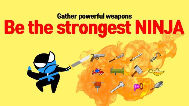 15 Schermata Jumping Ninja Battle - Two Player battle Action