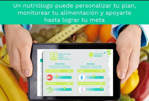 Dieta balanceada y Alimentación saludable personal скриншот 6