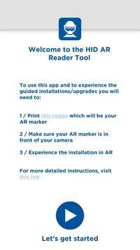 HID AR Reader poster