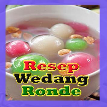 Resep Wedang Ronde poster