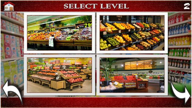 Hidden Objects Supermarket screenshot 14