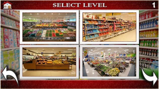 Hidden Objects Supermarket screenshot 1