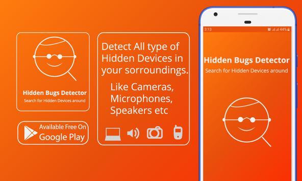 Hidden Bug Detector, Infrared viewer poster