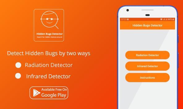 Hidden Bug Detector, Infrared viewer screenshot 1