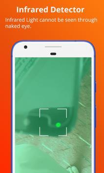 Hidden Bug Detector, Infrared viewer screenshot 3