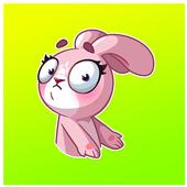 Bunny Funny Sticker for WhatsApp icon