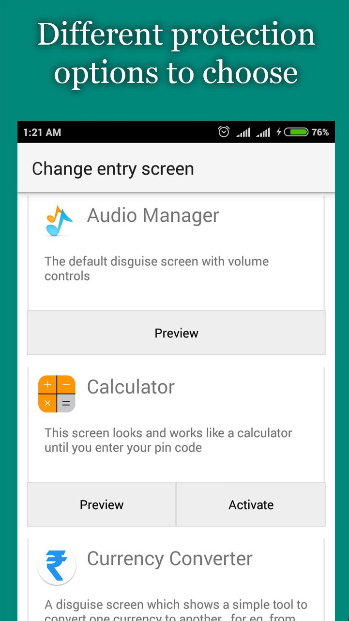 audio manager hide it pro apk free download