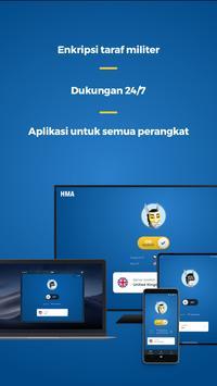 HMA VPN syot layar 4