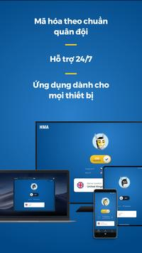 HMA VPN ảnh chụp màn hình 4