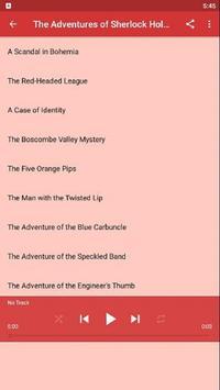 Sherlock Holmes, Audio Edition screenshot 1
