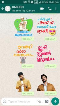Malayalam Sticker - WAStickerApps poster