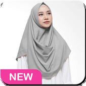 Hijab trend 2019 icon