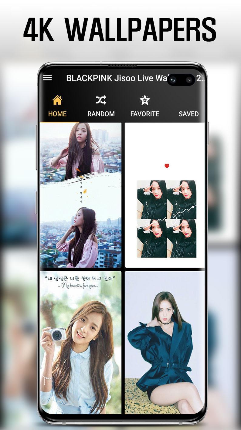 Android용 블랙핑크 지수 라이브 배경화면 2020년 Jisoo HD 4K Wallpaper ...