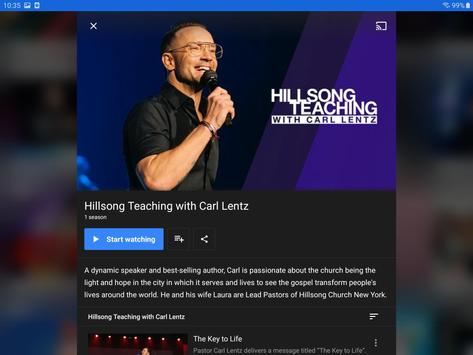 Hillsong Channel NOW syot layar 9