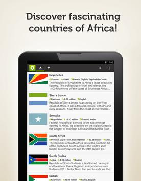 Countries of the World: Africa screenshot 1