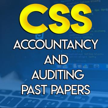CSS Accountancy And Auditing Past Papers poster