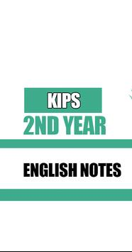 KIPS 2nd Year English Notes screenshot 1