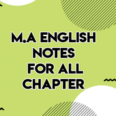 MA English Notes For All Chapter icon