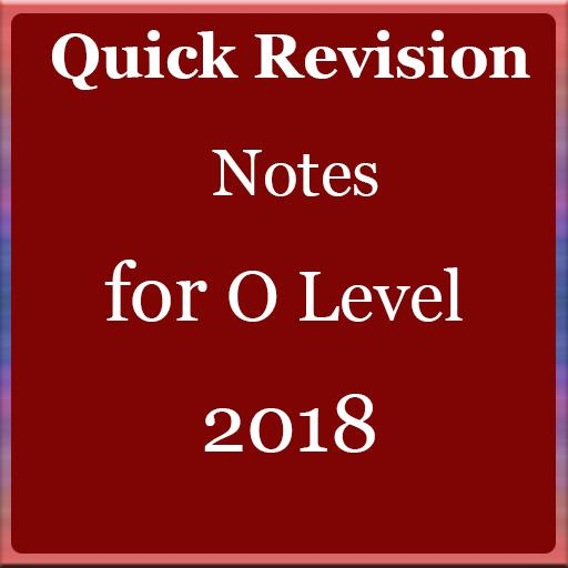 Quick Revision Notes for O Level for Android - APK Download
