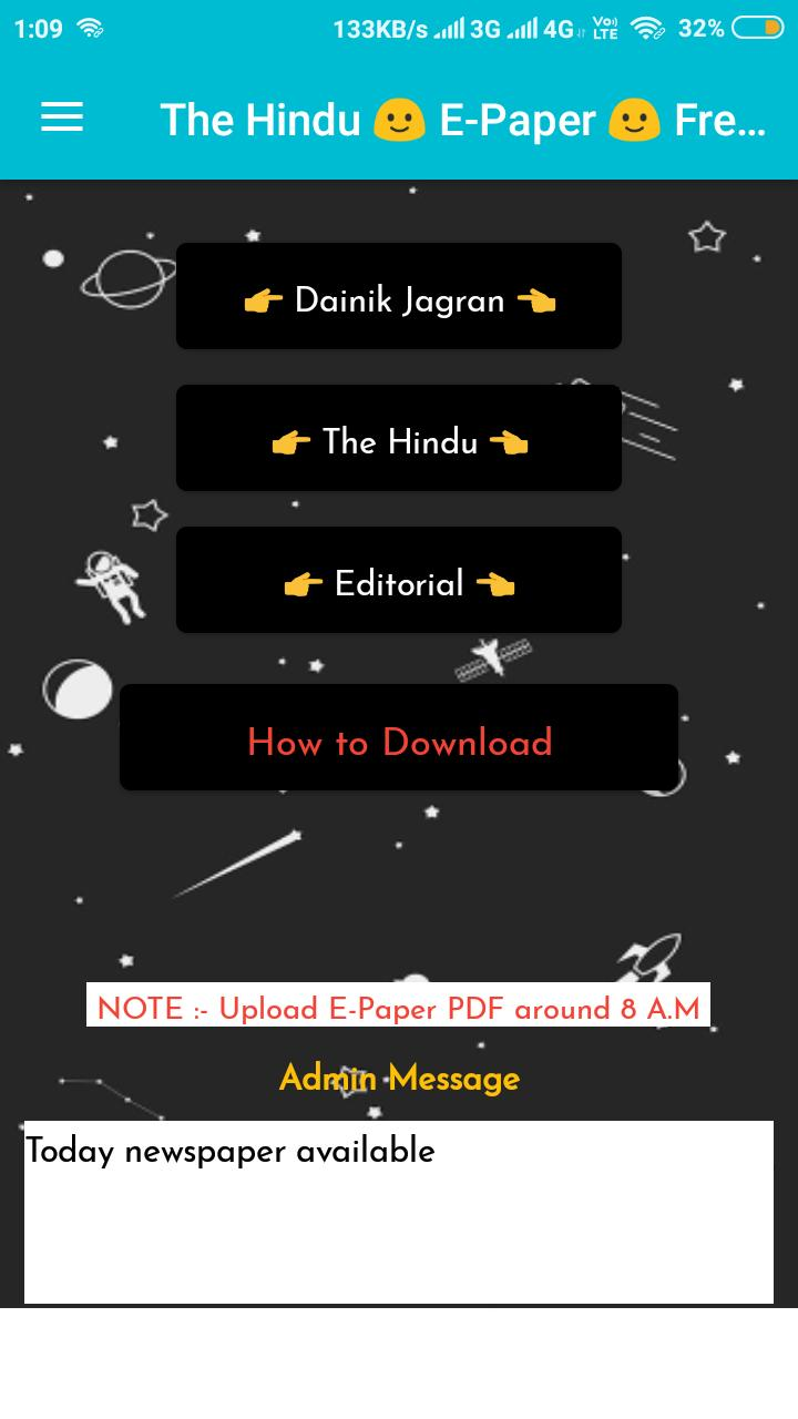 The Hindu+Editorial and Dainik 🙂Free PDF Download for Android - APK
