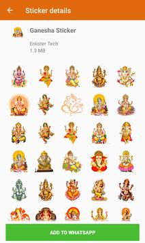 All God Hindu Stickers For Whastapp (WAStickers) screenshot 2