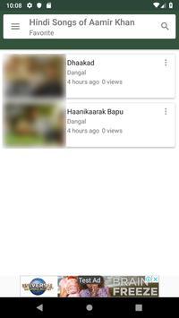 Hindi Songs of Aamir Khan screenshot 5